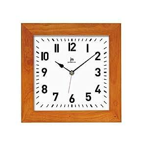 Orologio da parete in legno 21035c lowell for Orologio legno amazon