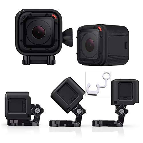 Low-profile Frame Mount Case Cover. GoPro Hero Session 5/4 Camera