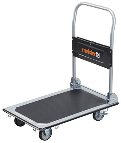 Meister 8985530 Chariot plateforme Pliable 150 kg