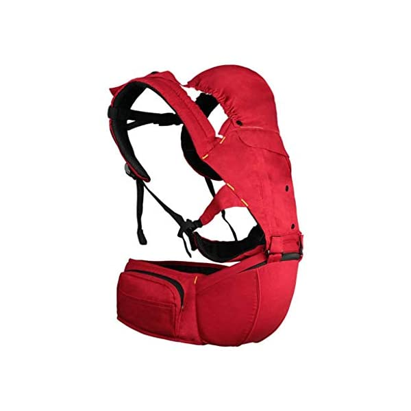 TONGSH Baby Carrier Infant Toddler Baby Backpack in Ergonomic Position 3 Carrying Ways with Large Breathable Mesh Accessories Pockets and Hood (Color : C)  √ TRIANGULAR EFFORT DESIGN: ergonomic baby carrier, distracting the baby's gravity, making the mother's shoulders, waist and abdomen evenly stressed, making the mother easier and more comfortable √ BREATHABLE WIDENED SHOUDER STRAP: flexible shoulder strap, selected with high-quality material, high elastic breathable, widened and thickened shoulder strap, which ensures refreshing and breathable, and enhanced support √ HIGH-QUALITY COTTON MATERIAL: cotton and polyester-cotton fabrics ensure the baby's comfort, breathable, wear-resistant, skin-friendly and comfortable, giving the baby a more comfortable feeling 1