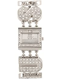 Guess Damen-Armbanduhr Logo Glam Analog Quarz W10264L1