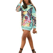 Keephen Madre Hija Sudadera con Capucha Ropa Familiar Camisa A Juego Ropa Estampada Sudadera Pullover Top