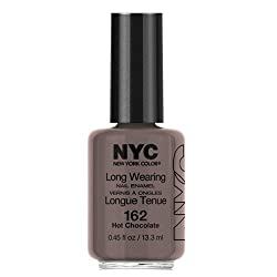 (3 Pack) NYC Long Wearing Nail Enamel - Hot Cholate