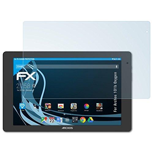 atFolix Schutzfolie kompatibel mit Archos 101b Oxygen Folie, ultraklare FX Bildschirmschutzfolie (2X)