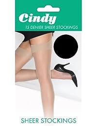 Cindy - Bas pour porte-jarretelles 15 deniers (1 paire) - Femme