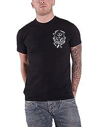 Sons of Anarchy Shirt Redwood Original Backpatch Logo Official Mens Black