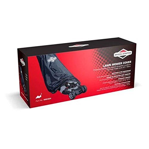 Briggs & Stratton 992424 Protective Lawn Mower Cover for Pedestrian Mowers Test