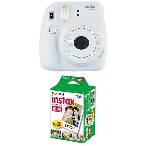 Produktbild Fujifilm Instax Mini 9 Kamera smoky weiß mit Film