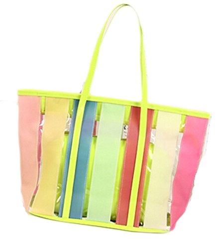 Quick Dry Shower Tote, Dusche Tasche für Reisen -Rainbow Farben B
