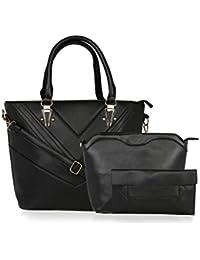 Kleio Designer Formal Combo Bag Shoulder Handbag for Women / Girls