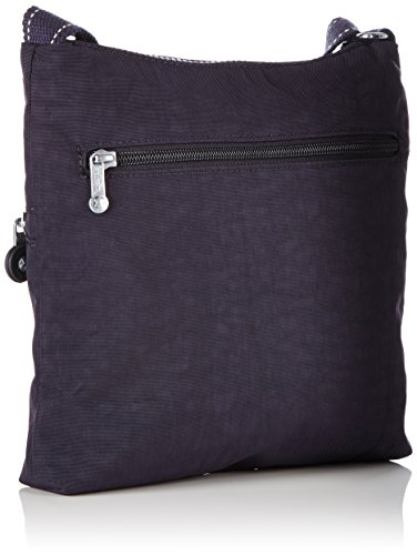 Kipling Damen Zamor Duo Umhängetasche, 25.5x24.5x4 cm Violett (Blue Purple C)