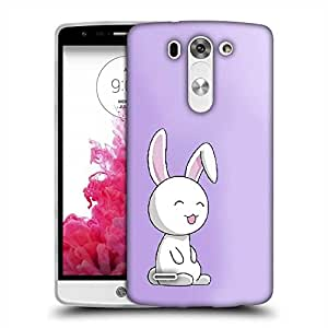 Snoogg Easter Bunny Designer Protective Phone Back Case Cover For LG G3 BEAT