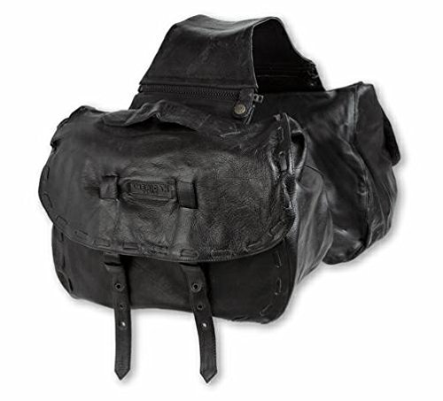 A-Pro Alforjas Saddle Bags Leather universal Fit Soft Motorcycle Motorbike Cruiser