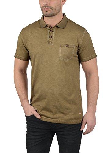 !Solid Termann Herren Polo-Shirt Polokragen Kurzarm Aus 100% Baumwolle Ermine (5944)