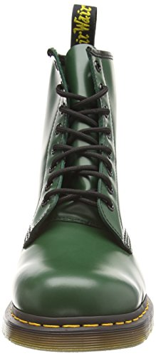 Dr Martens Broken In 1460, Boots mixte adulte Vert