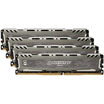 PC4 19200 Ballistix Sport LT 16GB 288-Pin DDR4 SDRAM DDR4 2400 Desktop Memory