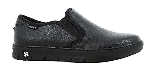 Oxypas Oxypas Neu Fashion Berufsschuh komfortabeler Sneaker Nadine aus Leder antistatisch (ESD) in vielen Farben (36, schwarz)