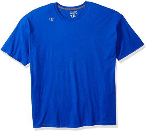 Champion Double Dry T-shirt (Champion Herren T-Shirt Double Dry Cotton Short Sleeve - Blau - 3X-Groß)