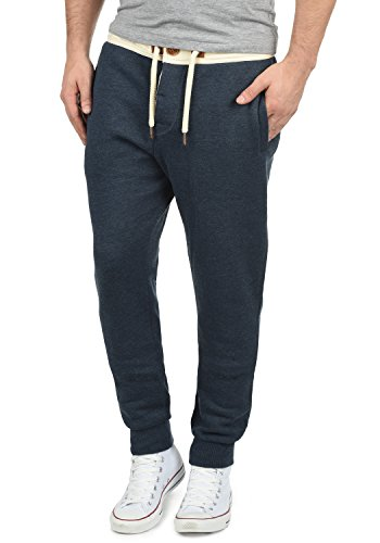 !Solid TripPant Herren Sweatpants Jogginghose Sporthose Mit Fleece-Innenseite Und Kordel Regular Fit, Größe:L, Farbe:Insignia Blue Melange (8991)