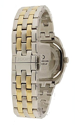 Joop Two Colors Women's Quartz Watch with Beige Dial Analogue Display and Multicolour Stainless Steel Bracelet JP101832004