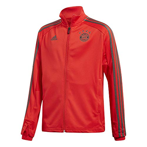 adidas Kinder 18/19 FC Bayern Training Jacket Trainingsjacke, red/Utility ivy, 128 -