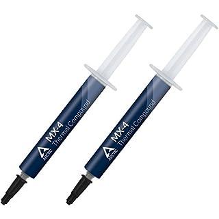ARCTIC MX-4 (8 Gramm) = 2 Tuben - Hochleistungs-Wärmeleitpaste für alle Kühler - Hohe Wärmeleitfähigkeit mit Niedriger thermischer Widerstand (8 g)