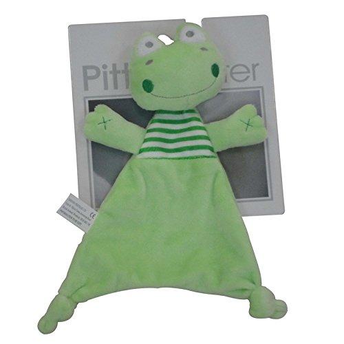 Unisex Baby Comforter-Kuscheltuch- Trösterchen Frosch