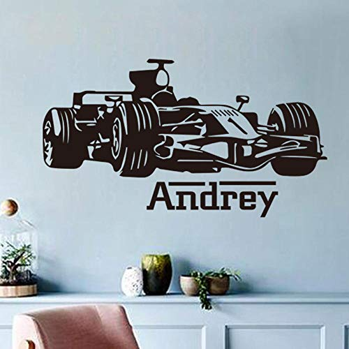 Etiqueta pared Talla creativa 4WD Racing Dormitorio