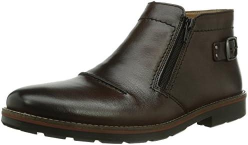 Rieker 35362-25 - botas de caño bajo de cuero hombre