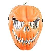 Kürbismaske, Halloween-Kürbis-Totenkopf, Halloween-Spielzeug, für ganze Person und für Partys, lustiges Verkleidungs-Requisiten preisvergleich bei billige-tabletten.eu