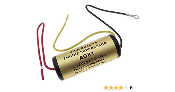 Entstörfilter Autoradio 8a Radio Kfz Filter Funkgerät Strom Ground Loop Isolator Elektronik