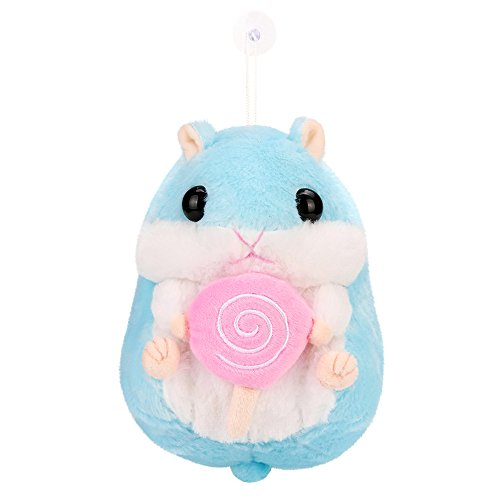 Coupon Matrix - SALE! Kawaii Jumbo Hamster Soft Plush Doll, GreatestPAK Gilrs Adorable Plush Stuffed Animal Soft CM© toy Cute Dolls Gift For Boys Adults Home Decoration (Blue)