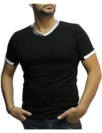 Waooh - Tee Shirt Col V Et Ecritures Bolko