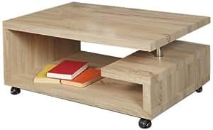 HL Design 01-03-518 Kim Table Basse Panneaux de Particules Alvéolaires