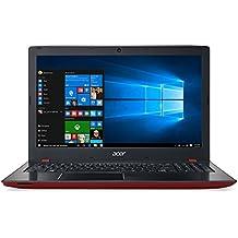 """Acer Aspire E 15 E5-575-78GM - Portátil de 15.6"""" (Intel Core i7-6500, 8 GB de RAM, disco HDD de 500 GB, tarjeta gráfica UMA, Windows 10 Home), color rojo"""