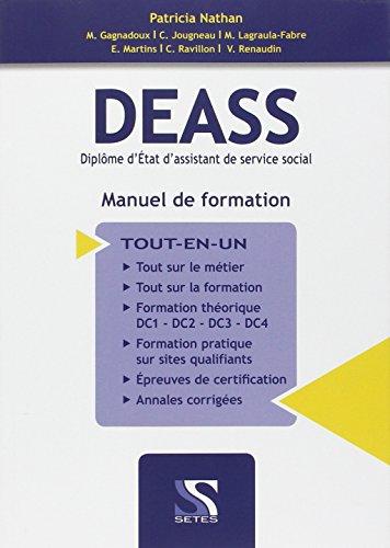DEASS Diplôme d'Etat d'assistant de service social : Manuel de formation Tout-en-un par Patricia Nathan