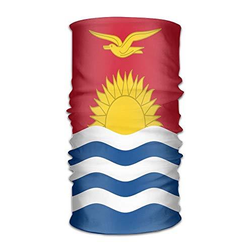 Wfispiy Flag of Kiribati Unisex Outdoor Sport Scarf Headbands Bandana Mask Neck Gaiter Head Wrap Sweatband Kopfbedeckung - Pony Plaid Hut