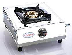Sunflower Stainless steel Single Burner Gas Stove