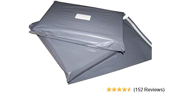 100 10x14 Grey Postage Mailing Bags  Amazon.co.uk  Office Products 461c15c25913