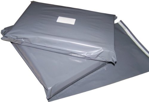 100-mixed-grey-plastic-mailing-mail-post-postage-bags