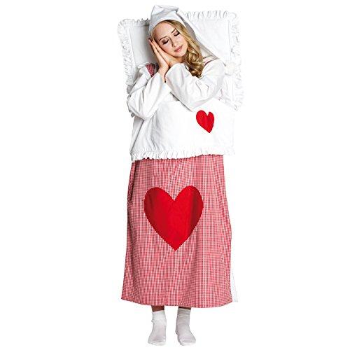 Haloween Männliche Kostüm - Bettkostüm Kostüm Bett Damenkostüm Dame Scherzartikel Bettchen