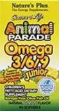 Nature's Plus, Source of Life, Animal Parade, Omega 3/6/9 Junior, Natural Lemon Flavour, 90 Softgels