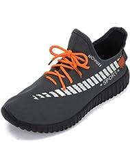 QUICKLYLY Zapatillas Hombres/Mujer Deporte Running Zapatos Correr Gimnasio Sneakers Padel Casual Deportivos Gimnasia Seguridad