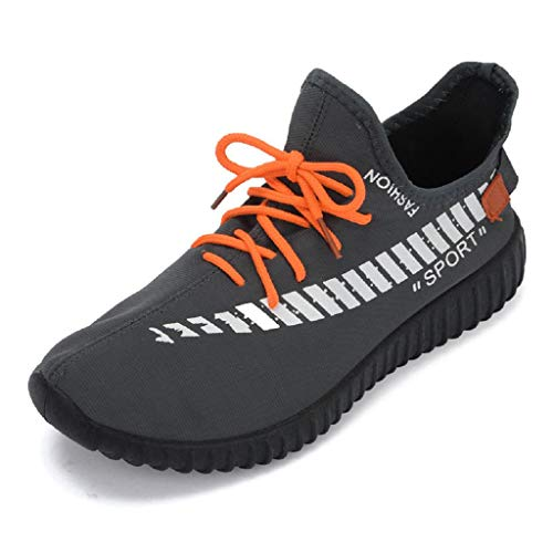 QUICKLYLY Zapatillas Hombres/Mujer Deporte Running Zapatos Correr Gimnasio Sneakers Padel Casu