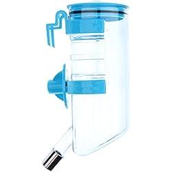 Sharplace Dispensador Bebedor de Agua Conejo Perro Animal Doméstico Gato Dispensador - Azul