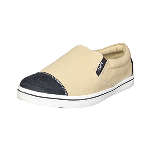 Duke Mens Black/Beige Casual Shoes