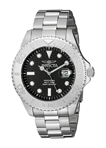 Invicta Men's 15173 Pro Diver Analog Display Swiss Quartz Silver Watch image