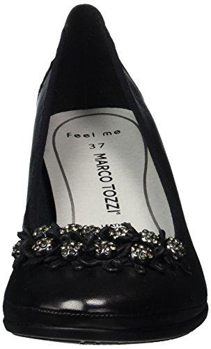 Marco Tozzi Premio22311 - Scarpe con Tacco Donna Nero (Black 001)