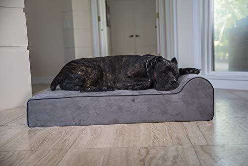 Therapeutische, Memory-schaum (Bully Beds Orthopädisches Hundebett aus Memory-Schaum, wasserfest, für große und extra große Hunde, strapazierfähiges Haustierbett für große Hunde)