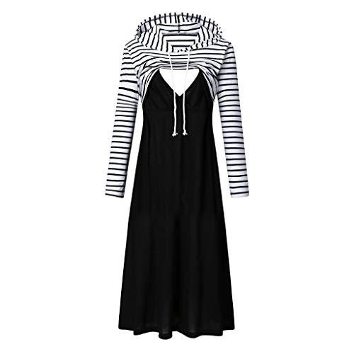 Ashui Umstandsmode Damen Umstandsnachthemd Baumwolle Stillnachthemd Nachthemden für Schwangere und Stillzeit Damen Umstandskleid Schwangerschaft...
